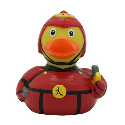 Japanese Fighter Rubber Duck By Lilalu