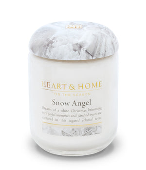 Snow Angel - Small Candle - From Heart and Home