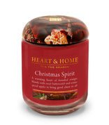Christmas Spirit - Large Candle - From Heart and Home