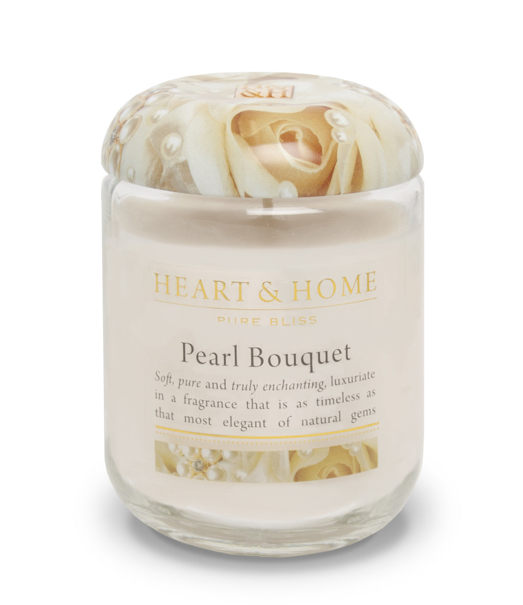 Pearl Bouquet - Large Candle - From Heart and Home