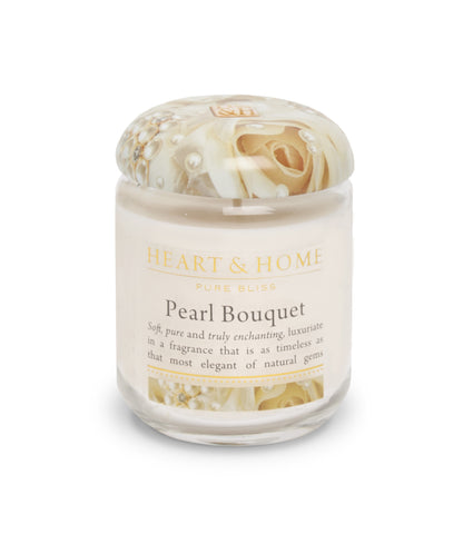 Pearl Bouquet - Small Candle - From Heart and Home