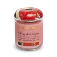 Pink Grapefruit & Cassis - Small Candle - From Heart and Home