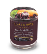 Simply Mulberry - Large Candle - From Heart and Home