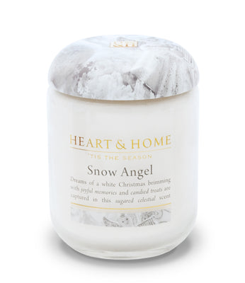 Snow Angel - Large Candle - From Heart and Home