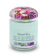 Sweet Pea - Large Candle - From Heart and Home
