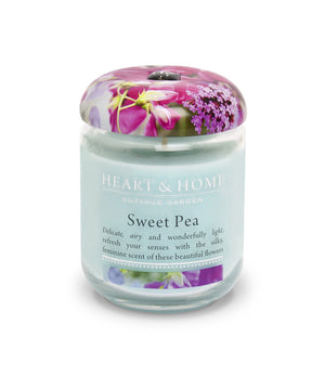 Sweet Pea - Small Candle - From Heart and Home