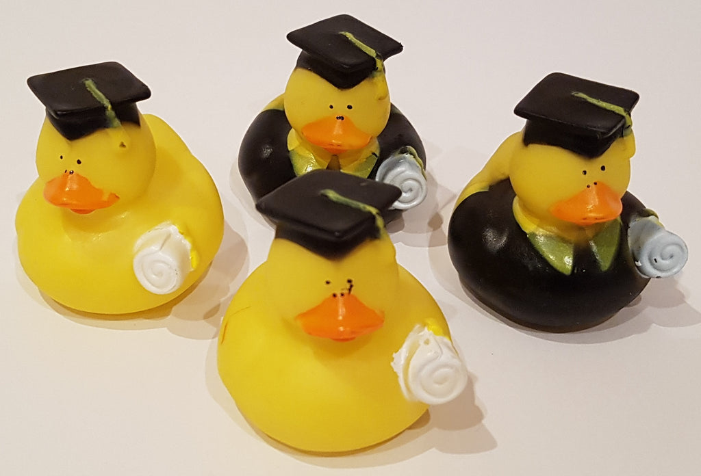 Graduation Rubber Duckies - Pack of 12 Ducks