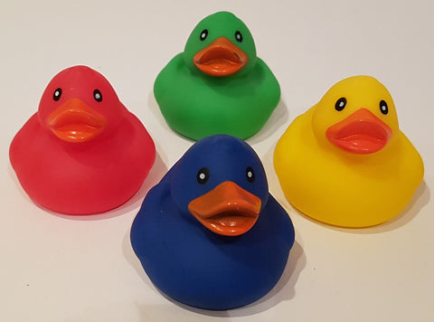 Floating Rubber Duckies - Pack of 4 Ducks