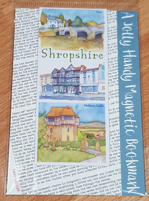 Shropshire Magnetic Bookmark - Emma Ball