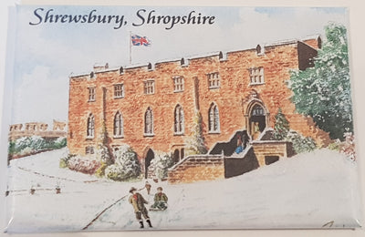 Fridge Magnet - Shrewsbury Castle