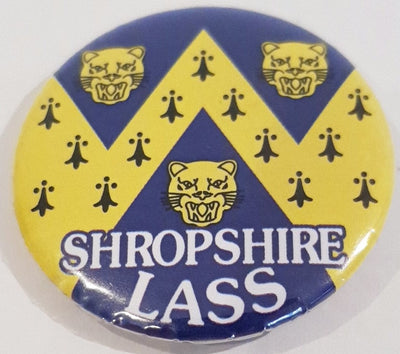 Shropshire Lass Badge