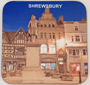 Shrewsbury Coaster - Statue