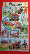 Shropshire Tea Towel