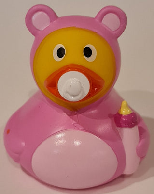 Baby Girl Rubber Duck By MBW