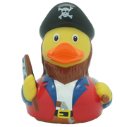 Pirate Rubber Duck with flag By Lilalu