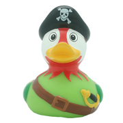 Pirate Parrot Rubber Duck By Lilalu