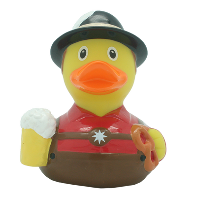 Bavarian Male Rubber Duck By Lilalu