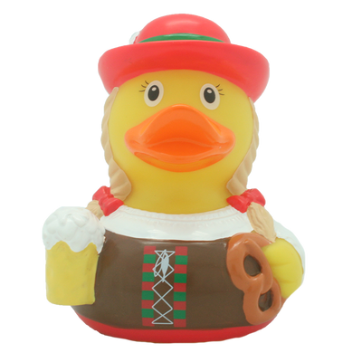 Bavarian Female Rubber Duck By Lilalu