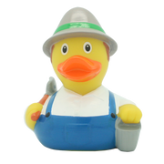 Farmer Rubber Duck By Lilalu