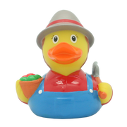 Farmer Female Rubber Duck By Lilalu