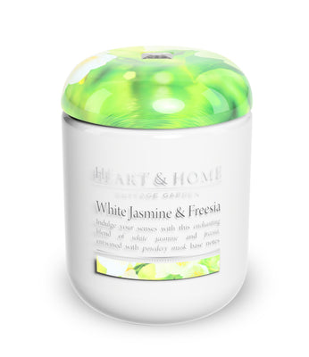White Jasmine - Large Candle - From Heart and Home