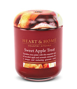 Sweet Apple Treat - Large Candle - From Heart and Home