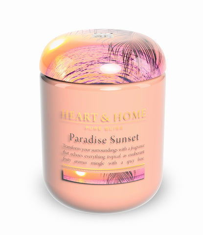 Paradise Sunset - Large Candle - From Heart and Home