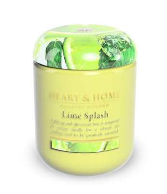 Lime Splash - Large Candle - From Heart and Home