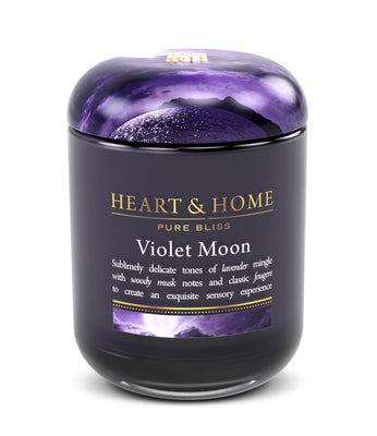 Violet Moon - Large Candle - From Heart and Home