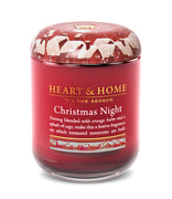 Christmas Night - Large Candle - From Heart and Home