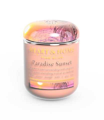 Paradise Sunset - Small Candle - From Heart and Home