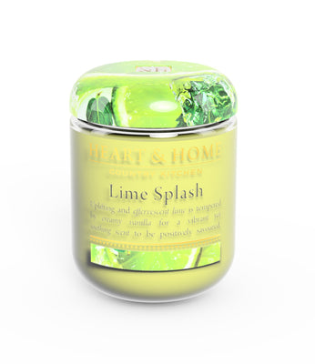 Lime Splash - Small Candle - From Heart and Home