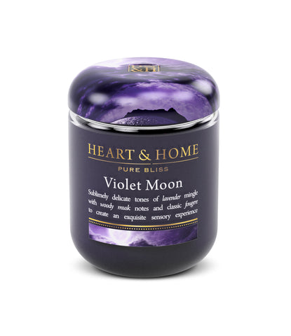 Violet Moon - Small Candle - From Heart and Home