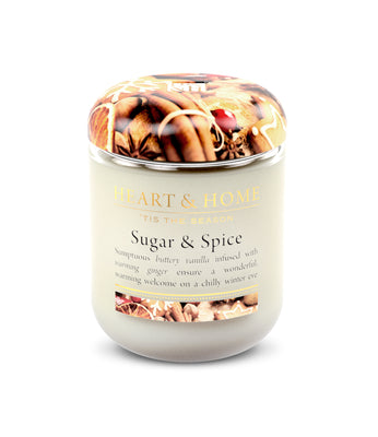 Sugar & Spice - Small Candle - From Heart and Home