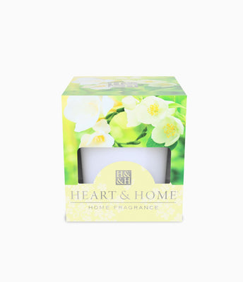 White Jasmine - Votive - From Heart and Home