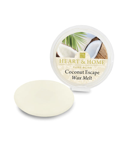 Coconut Escape - Wax Melts - From Heart and Home