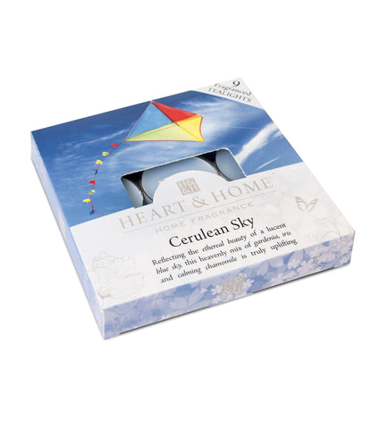 Cerulean Sky - Tealights - From Heart and Home