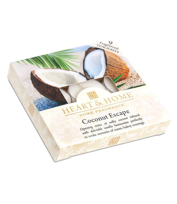 Coconut Escape - Tealights - From Heart and Home