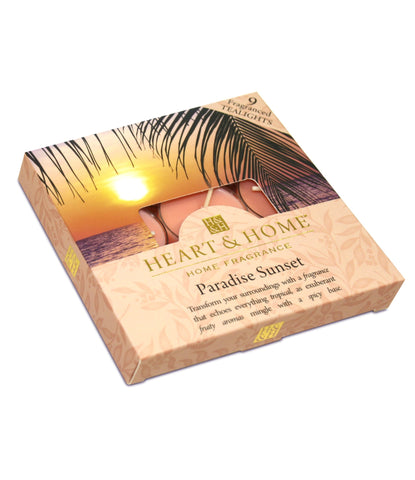 Paradise Sunset - Tealights - From Heart and Home