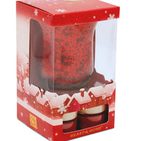 Tealight Holder Gift Set - Tealights & Tealight Holder Gift Set From Heart and Home
