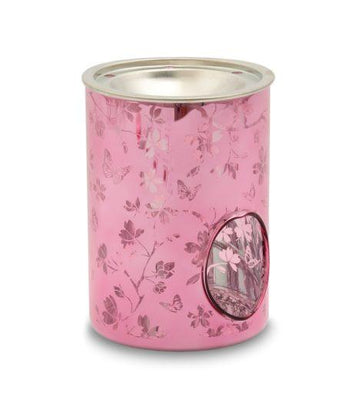 Pink Blossom Pillar Warmer From Heart and Home