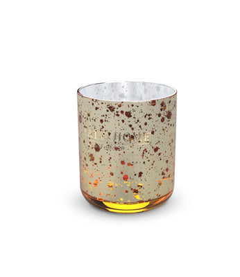 Gold Votive Glass
