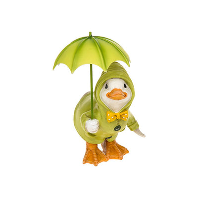 Puddle Duck With Brolly Squat