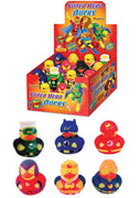 Superhero Rubber Duckies - Pack of 12 Ducks