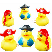 Pirate Rubber Duckies - Pack of 12 Ducks PW
