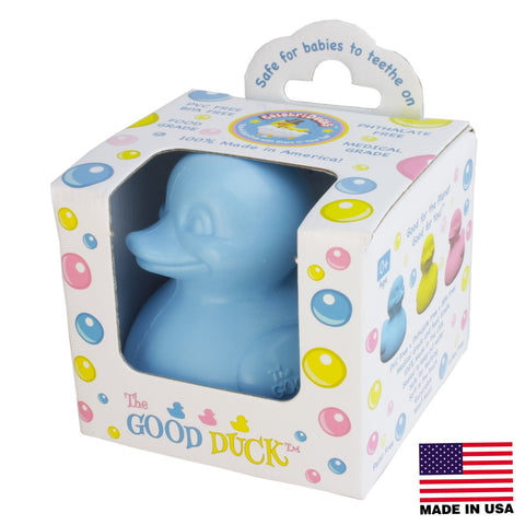 Celebriducks - The Good Duck - PVC FREE Rubber Duck - Blue