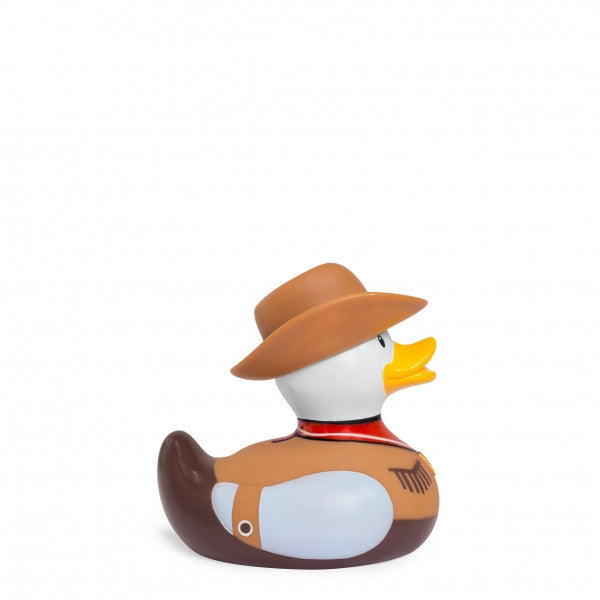 Mini Deluxe Bud Duck - Cowboy