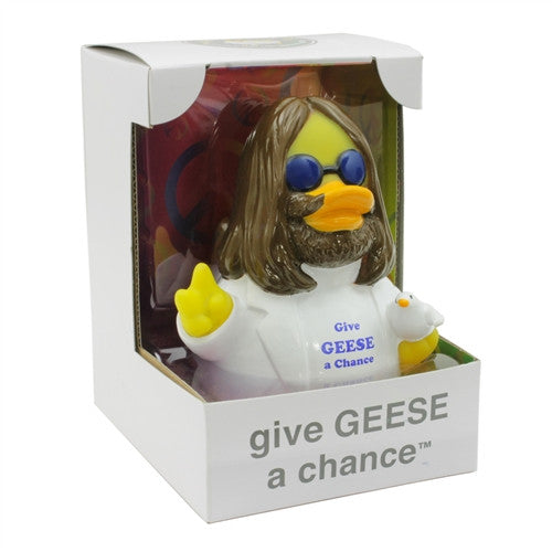 Give Geese A Chance RUBBER DUCK Costume Quacker Bath Toy by CelebriDucks