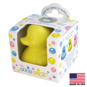 Celebriducks - The Good Duck - PVC FREE Rubber Duck - Yellow