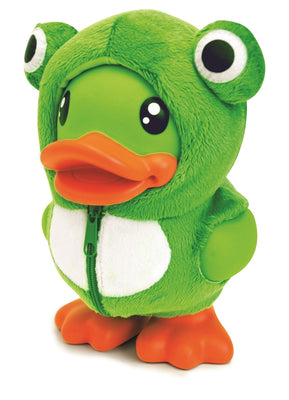 B.Duck Savings Banks - Green Frog Costume Money Box